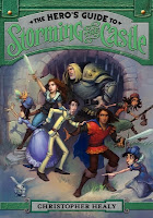 the hero's guide to storming the castle by christopher healy book cover