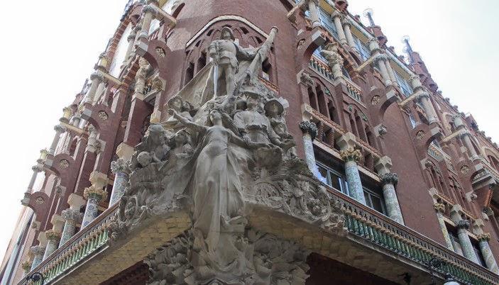 Visitar el Palacio de la Música de Barcelona