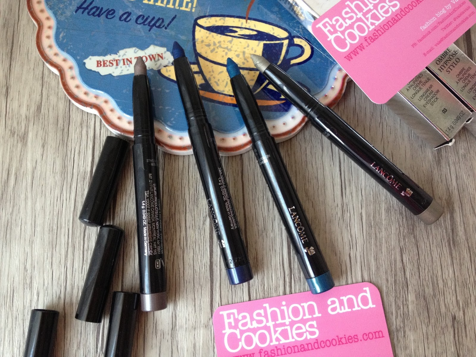 Lancôme Ombre Hypnôse Stylo cream eyeshadow review on Fashion and Cookies beauty blog