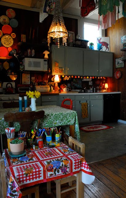 Dishfunctional Designs The Bohemian Kitchen