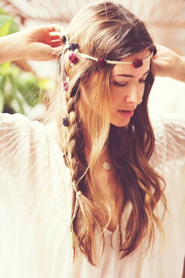 Más de 1000 ideas sobre Peinados Hippies en Pinterest - Peinados Hippie Chic Con Trenzas