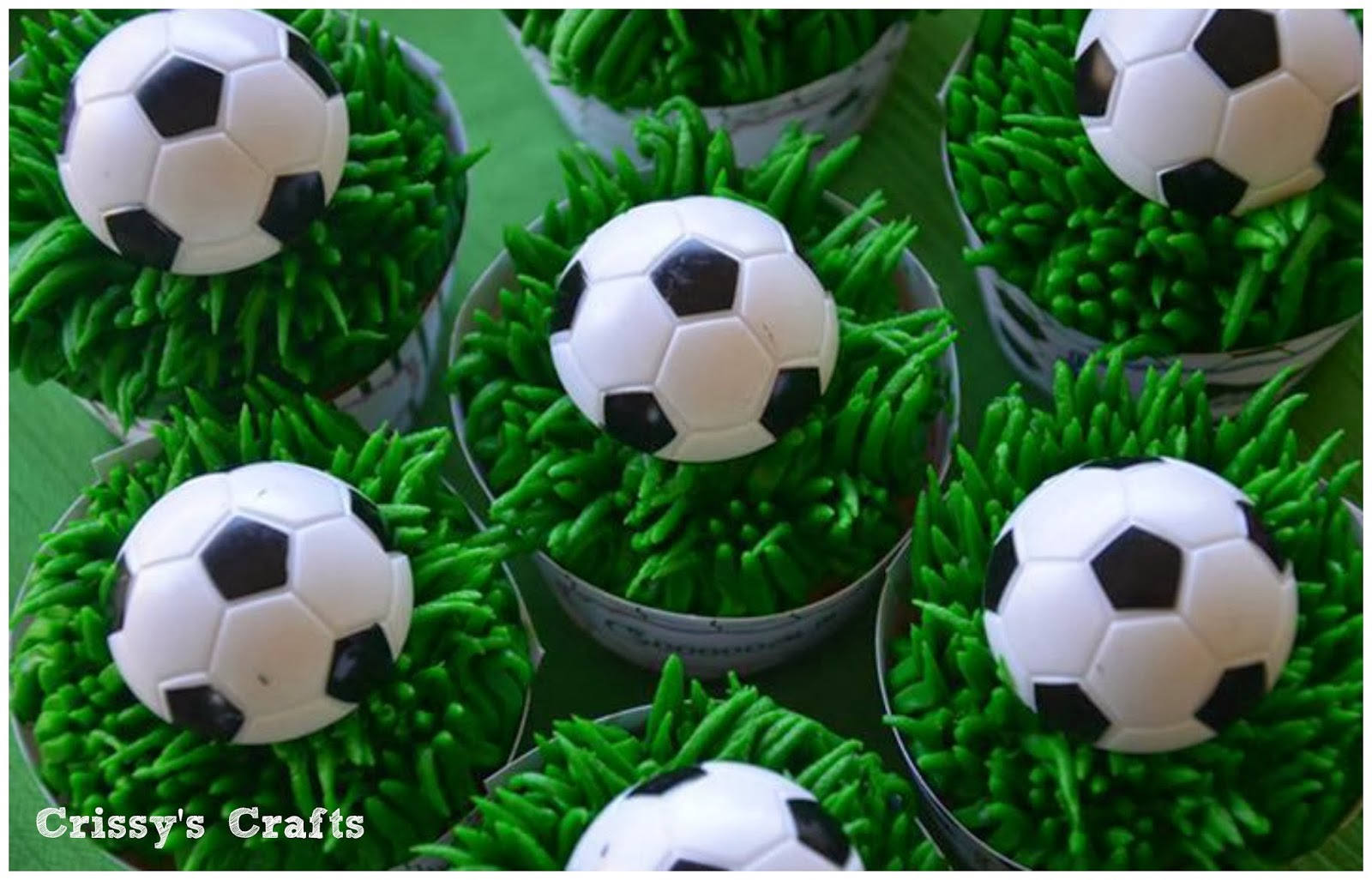 Soccer ball craft ideas - End Of The Season Soccer Party