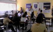 ONA y diversas instituciones abordaron Liceo en Jacinto Plaza