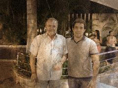 Con Luis Gracia Martin