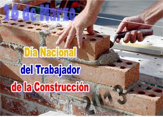 Calendario Web: Día Nacional del Trabajador de la Construcción   365 ...