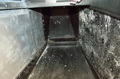 Passenger side interior panel removed!