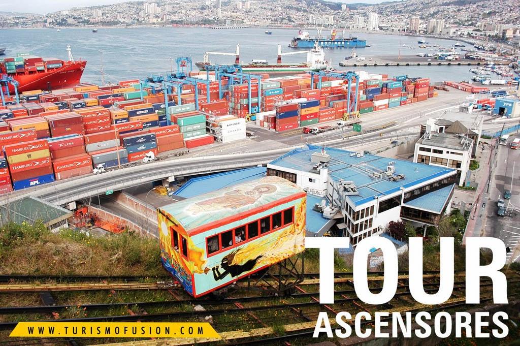 TOUR TEMATICO ASCENSORES DE VALPARAISO