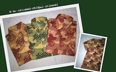 Baju Batik Pria 17ABC