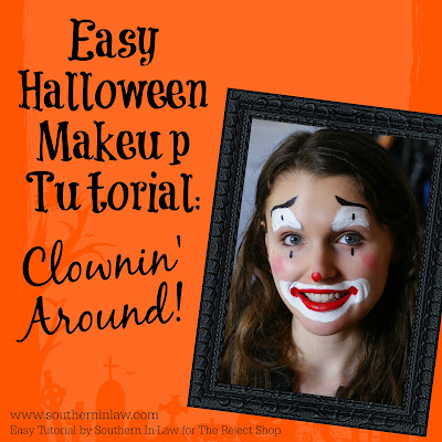 Clownin' Around Easy Clown Halloween Makeup Tutorial