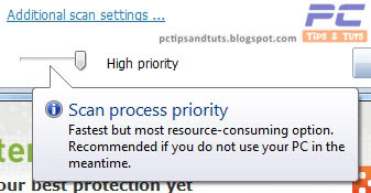High Priority Scanning