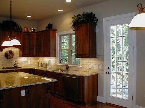 Tile Backsplash With Granite Countertops