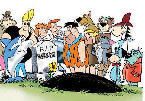 RIP cartoon network
