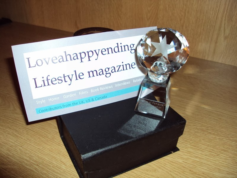 Loveahappyending Lifestyle Magazine wins The Innovation in Romantic Fiction Industry Award!