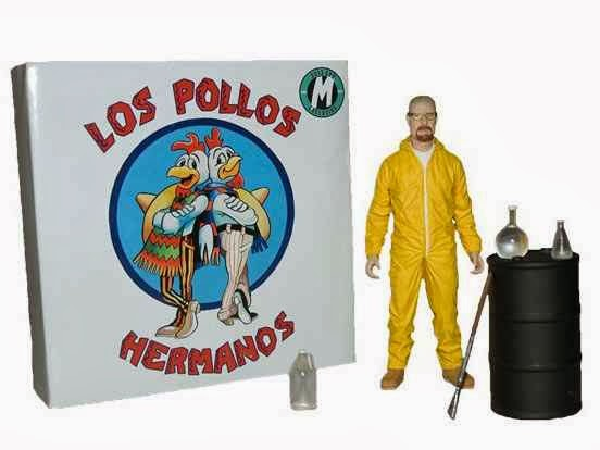 Figura Comic Con Walter White Breaking Bad