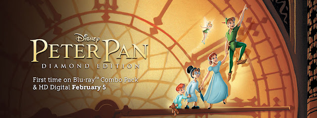 Disney Peter Pan Blu-ray & HD Digital Release
