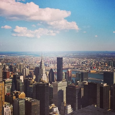 Amazing View From The Top Of Empire State Building