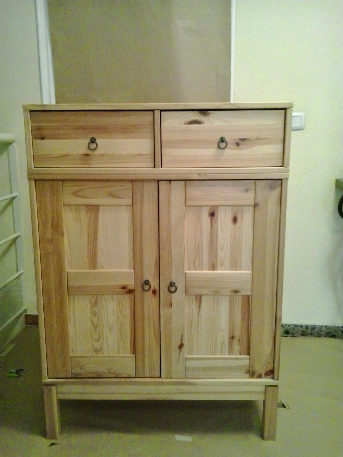 Como pintar muebles de pino interesting muebles multi uso - Muebles pino para pintar ...