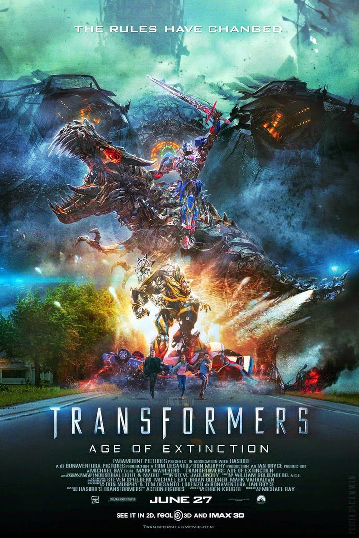 The 4 th and hopefully final installment of Michael Bay's explosive  interpretation #Transformers hits the theatres with a new human cast.