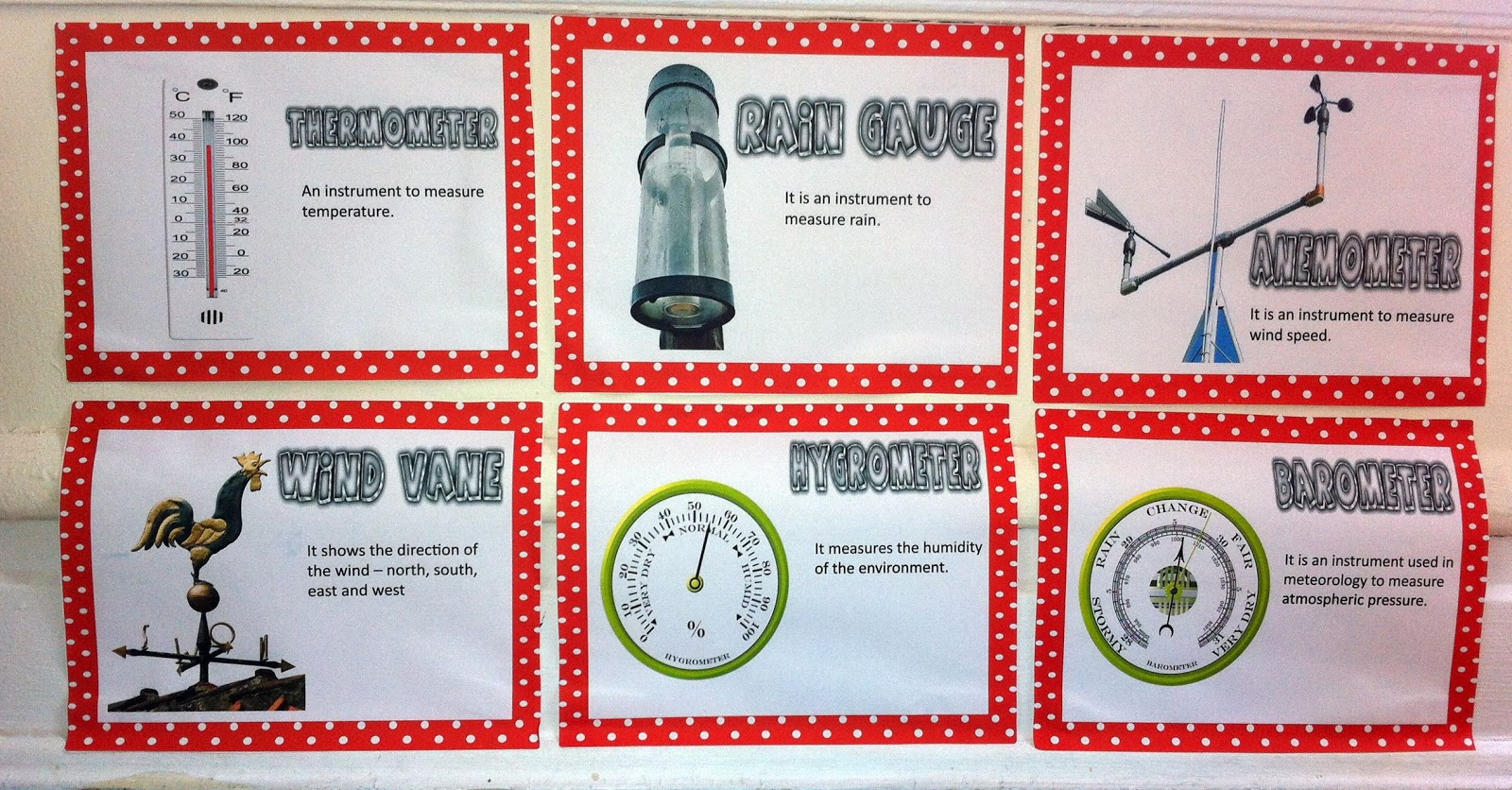 Types Of Weather Instruments : Fabiana carter temperature