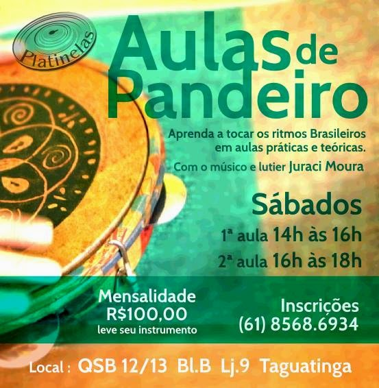 AULAS DE PANDEIRO