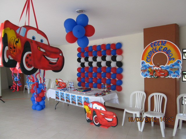 DECORACION FIESTA TEMATICA CARS FIESTAS INFANTILES 13
