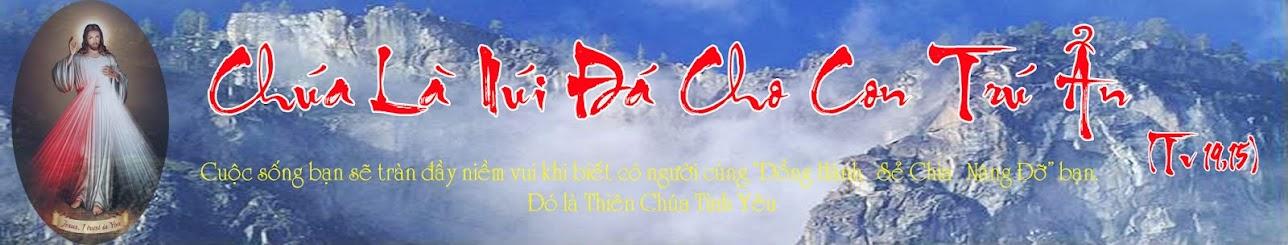 Chúa Là Núi Đá Cho Con Trú Ẩn (Tv 19,15)