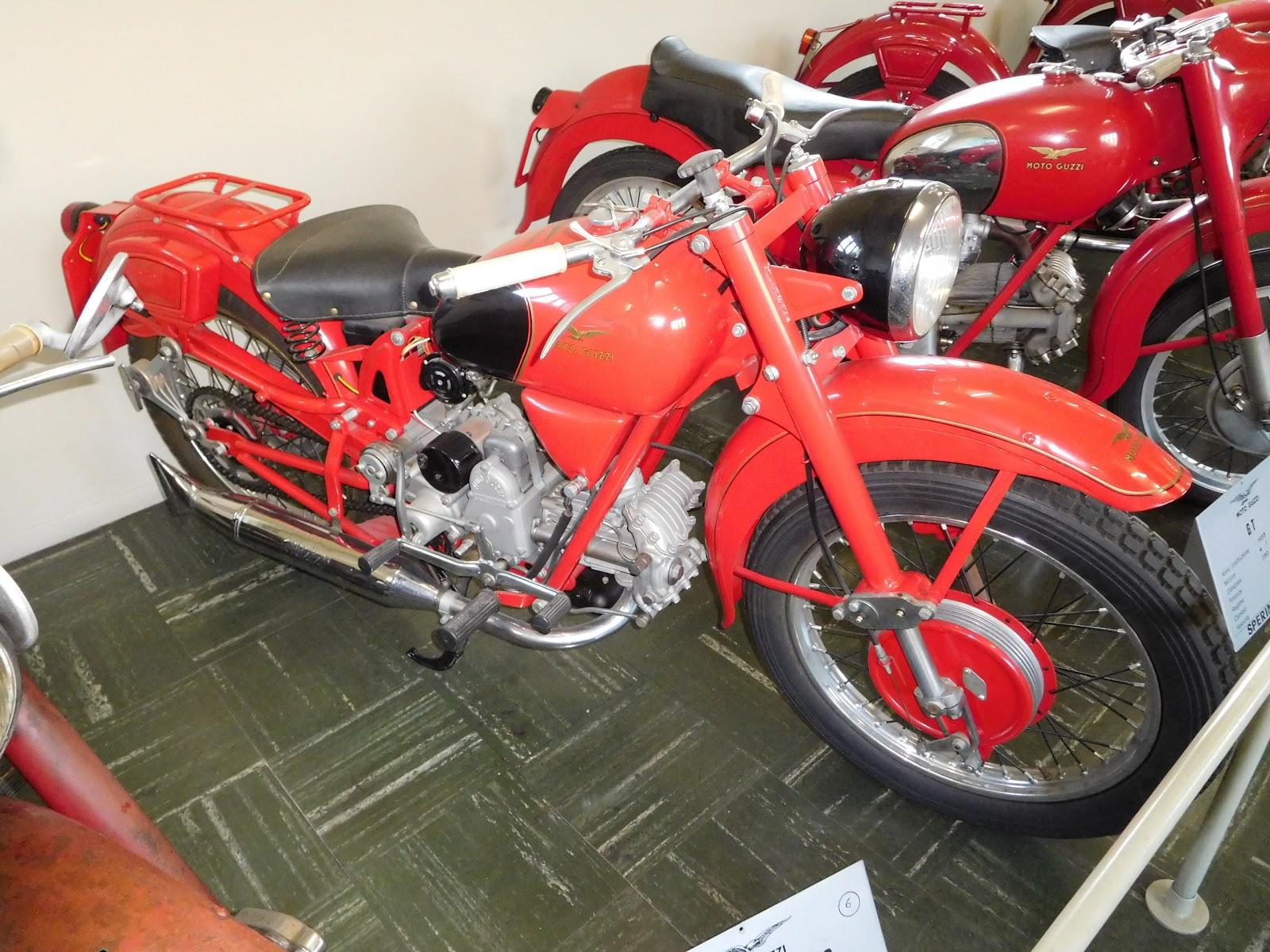 Tigho NYDucati: 1952-58 Moto Guzzi Airone Turismo