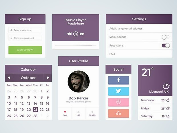 15 Beautiful Free UI Kits for Developers