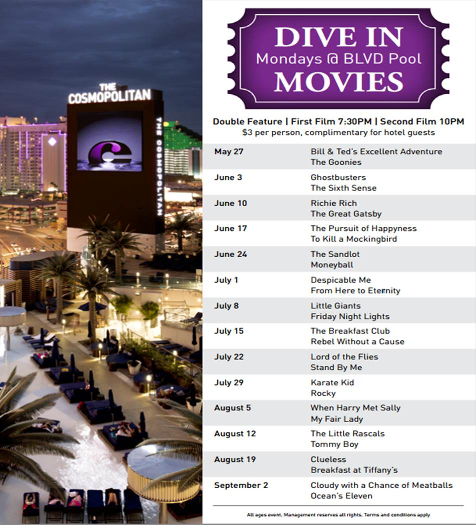 Gay vegas travel dive in movies at the cosmopolitan - Dive in movie ...