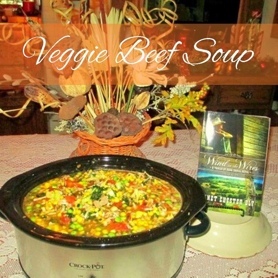 Veggie Beef Crockpot Soup