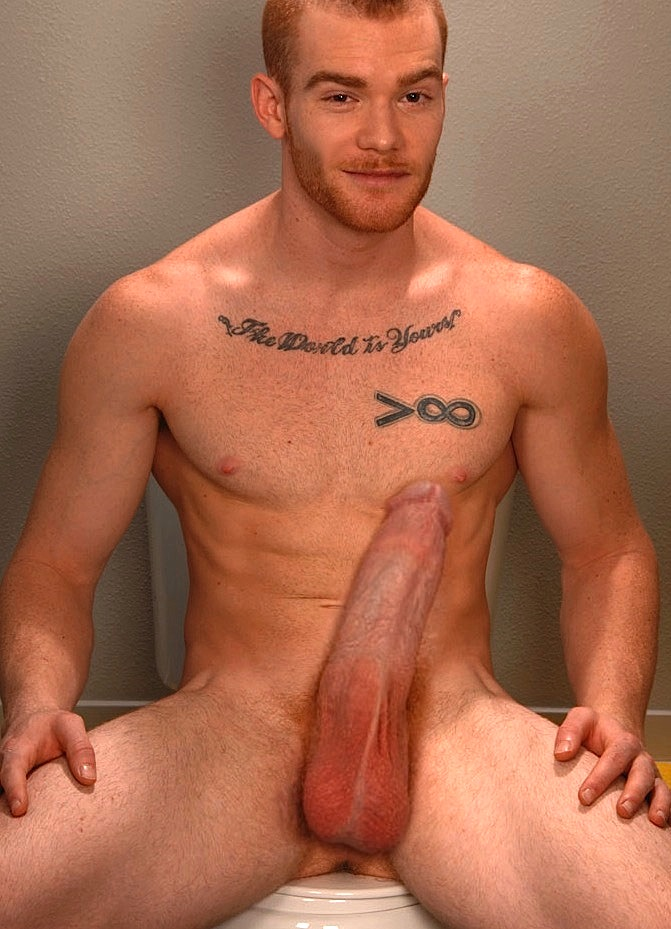 Nude hung gay men