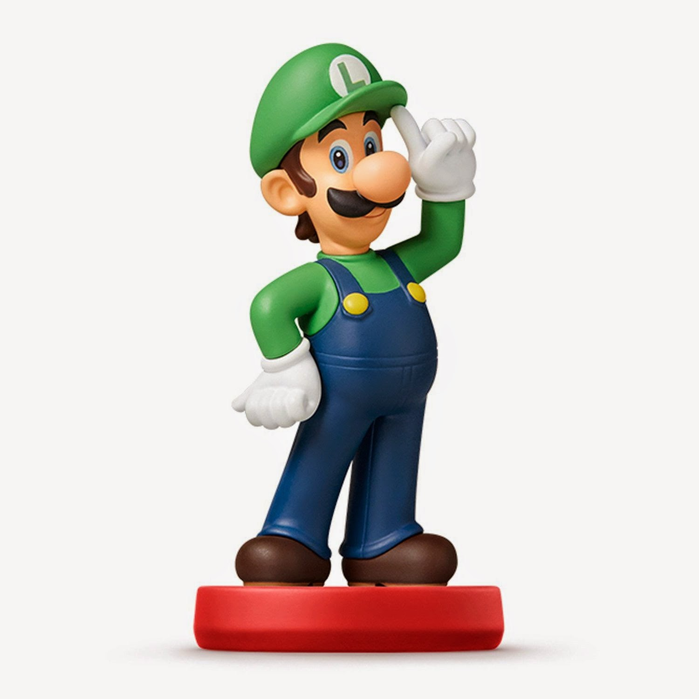 JUGUETES - NINTENDO Amiibo : Figura Luigi   (20 Marzo 2015) | Videojuegos | Muñeco | Super Mario Collection