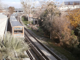 Train in Piraeus, December 2015
