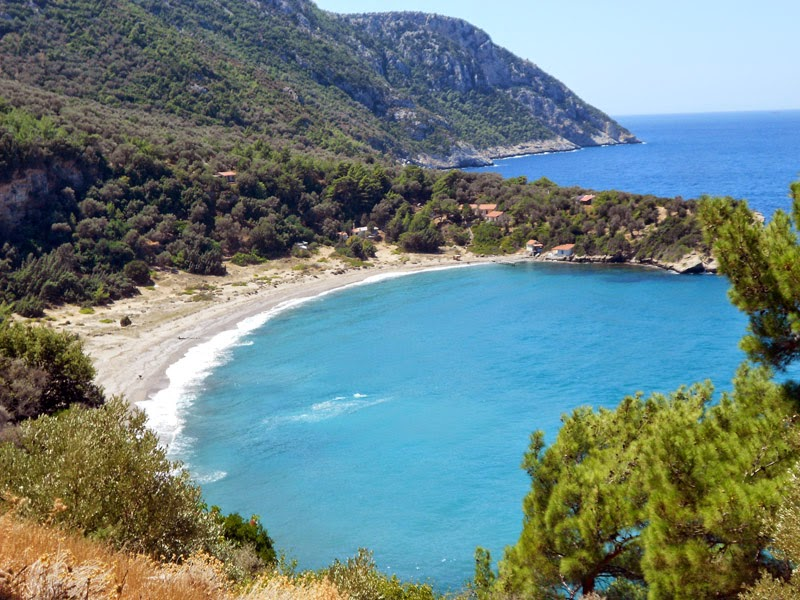 La spiaggia delle foche monache - Samos