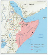 Horn of Africa Map Pictures