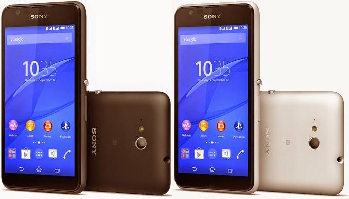 Sony Xperia E4G, Smartphone 4G LTE Harga 1,8 jutaan