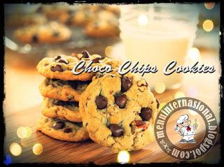 Cara Membuat Choco Chip Cookies Ala Good Time Renyah dan Gurih