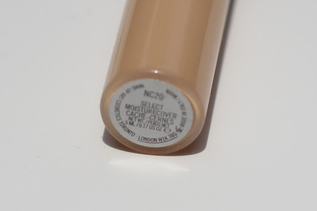 MAC Select Moisture Cover Concealer Review