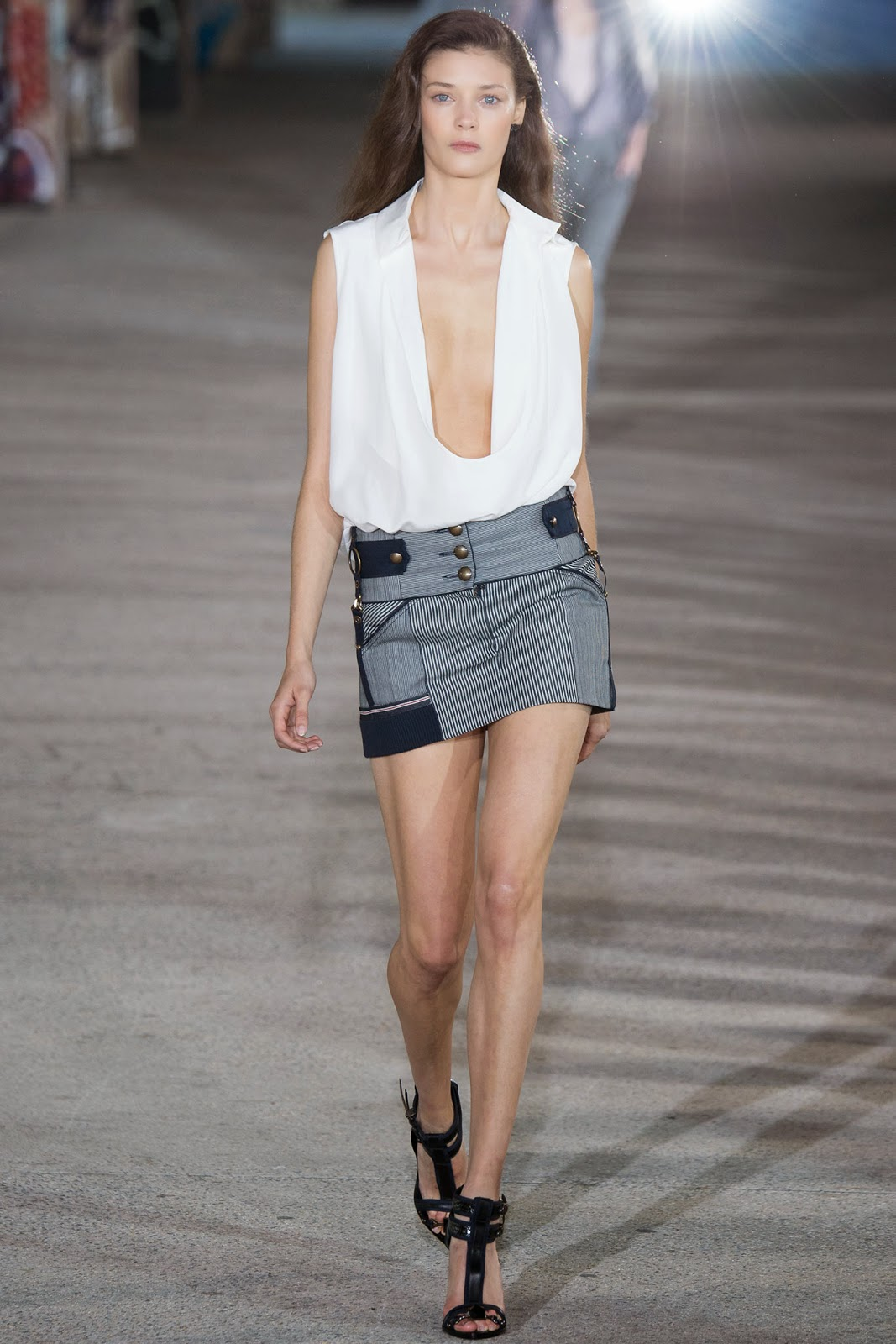 Anthony Vaccarello spring summer 2015