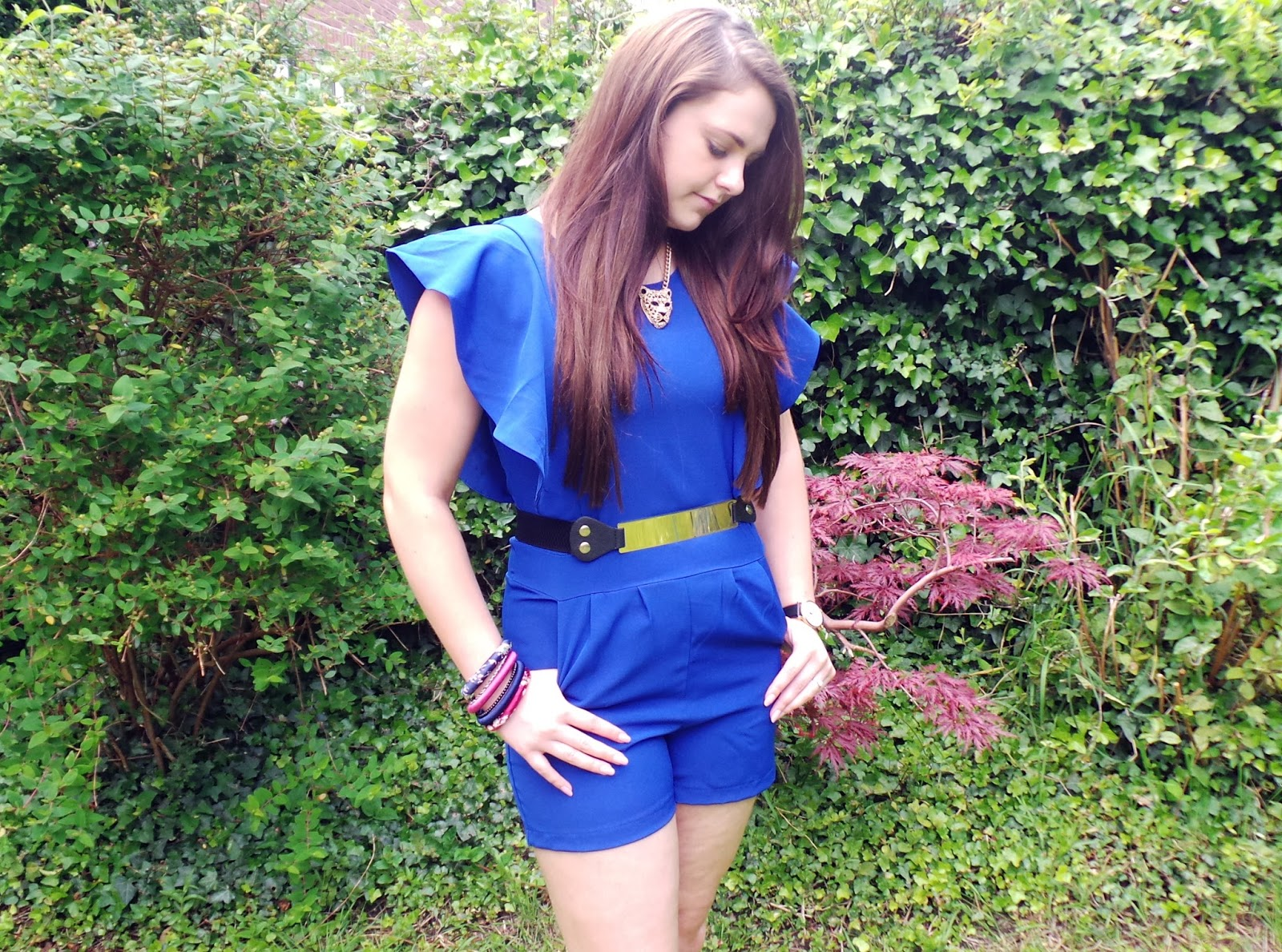 the cityrack, the cityrack blue belted playsuit, fashion blog, fashion blogger, uk fashion blog, uk fashion blogger, uk style blog, uk style blogger, night out, playsuit, accessories, fashion accessories blog, laurasallmadeup,