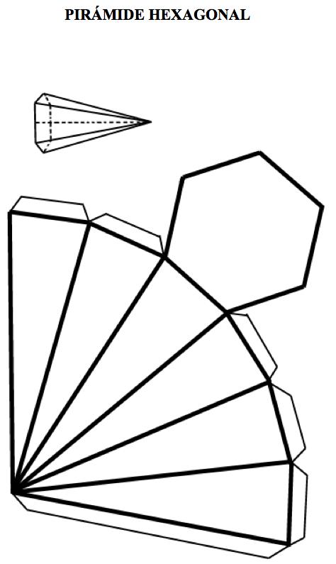 Como se hace la piramide cuadrangular - Imagui