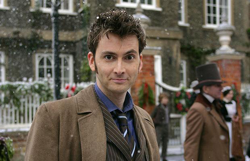 David Tennant como el Doctor.