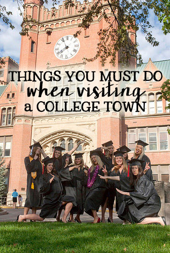 Things to do in a college town