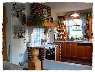shabby landhaus vorher nachher k che esszimmer. Black Bedroom Furniture Sets. Home Design Ideas