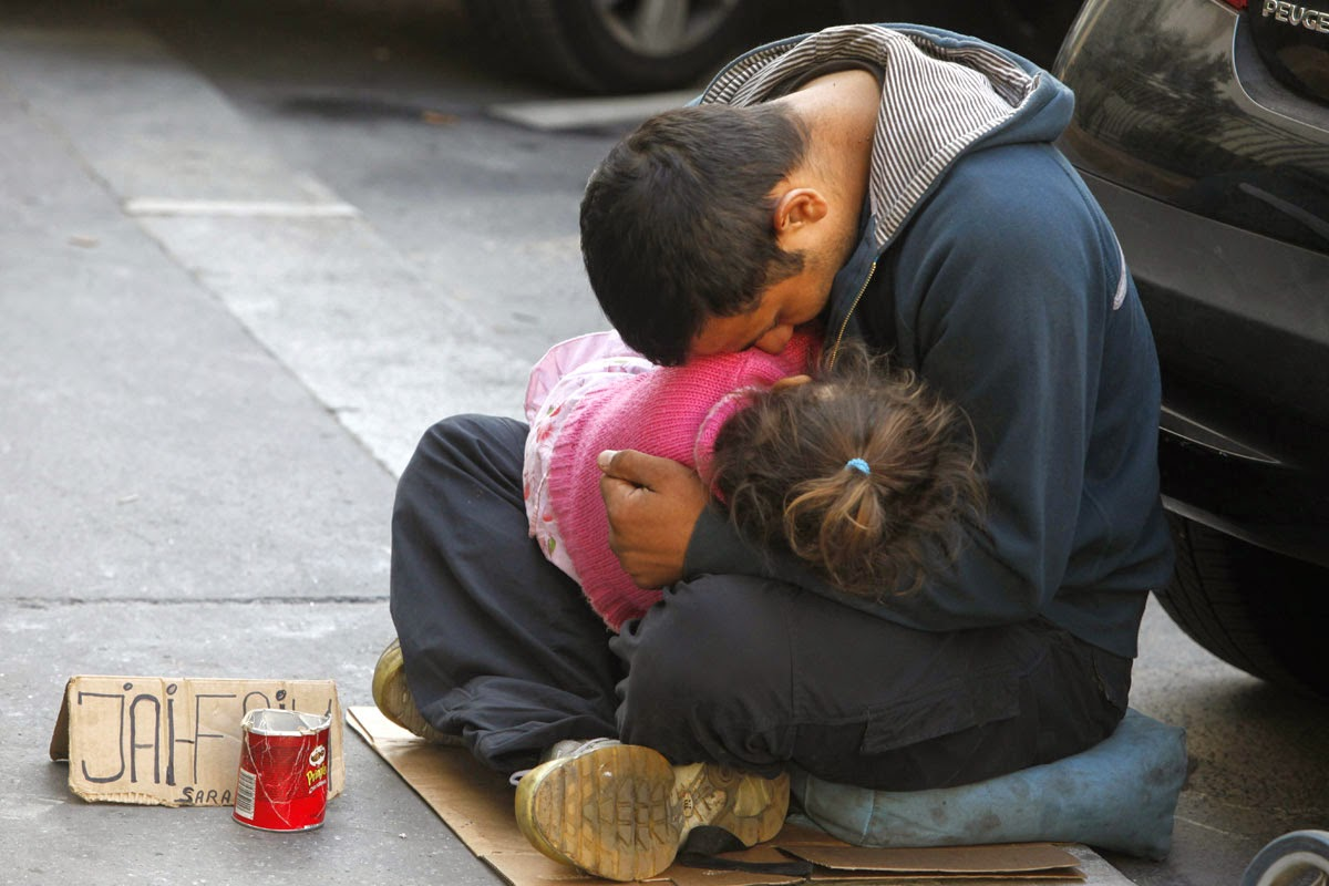homeless and their children