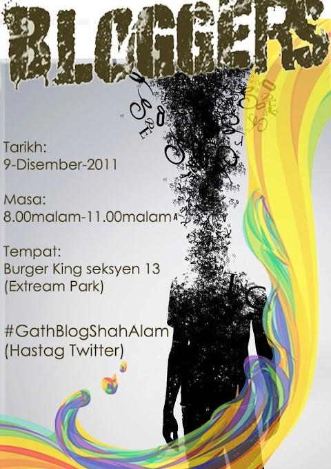 Untuk Blogger Shah Alam dan Lain-Lain jugak!