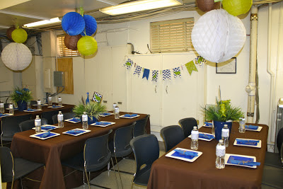 enchanted expectations chevron zoo crew office baby shower