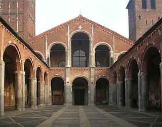 Nartece spazio atrio a portico antistante ad una basilica