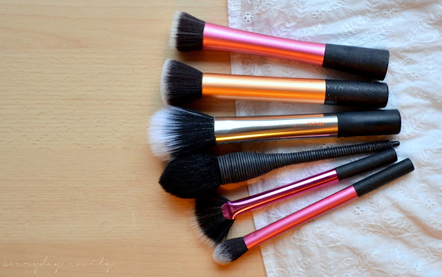 Make up brushes from Real Techniques