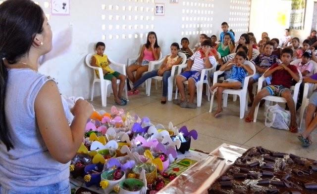 SCFV de Zabelê comemora Páscoa com apresentações e entrega de lembrancinhas